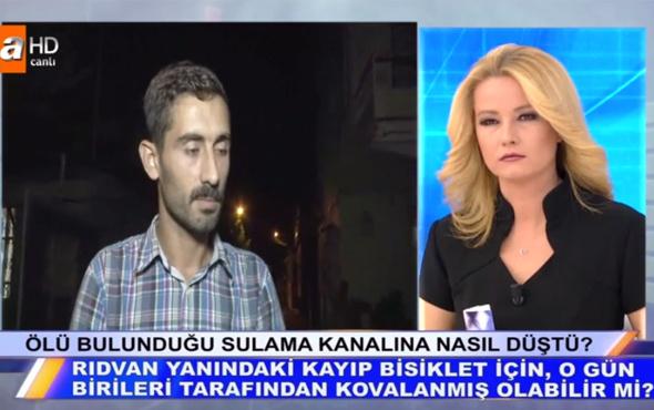 Müge Anlı 12 yaşındaki Rıdvan cinsel istismara mı uğradı tişörtü yok