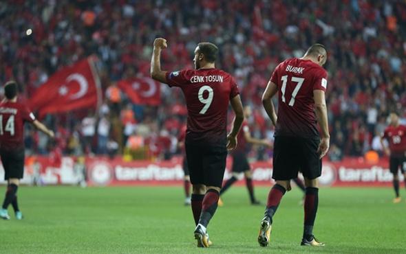 Türkiye FIFA sıralamasında 6 basamak geriledi