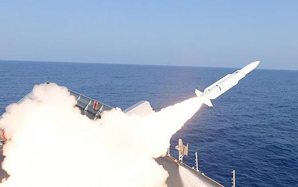 Atmaca füzesinin ilk atışı gerçekleştirildi