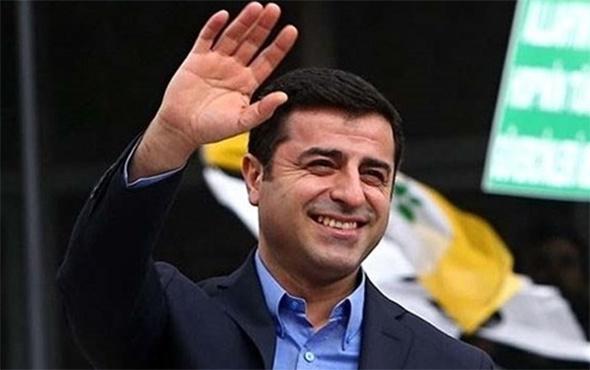 HDP Eş Başkanı Demirtaş'tan haber var