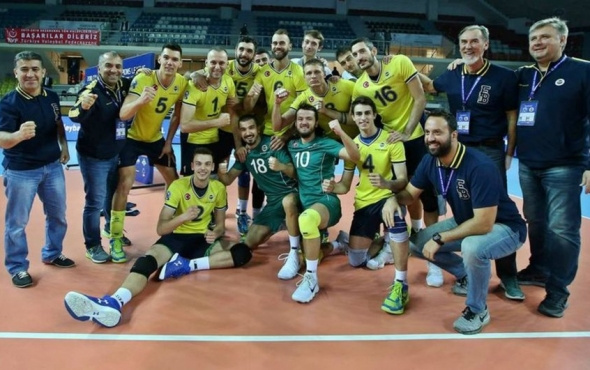 Fenerbahçe CEV Şampiyonlar Ligi'nde yoluna devam ediyor