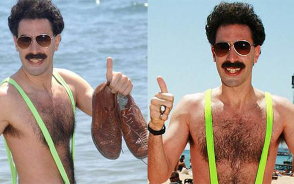 Borat mayosu kriz çıkardı: 6 gözaltı!