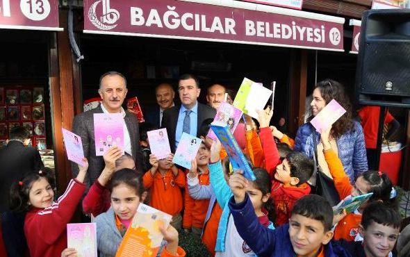 Çocuklar için kitap fuarı açıldı