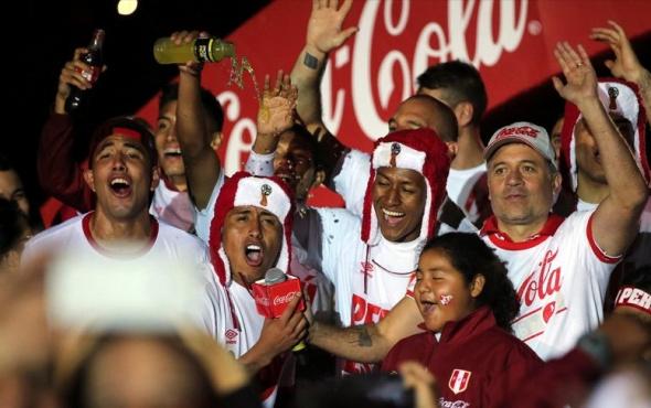 Farfan gol attı Peru'da deprem oldu