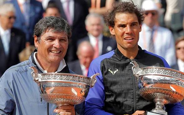 Rafael Nadal Toni Nadal'la yollarını ayırdı