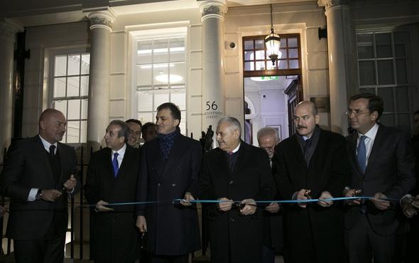 Binali Yıldırım, Boris Johnson'u kabul etti