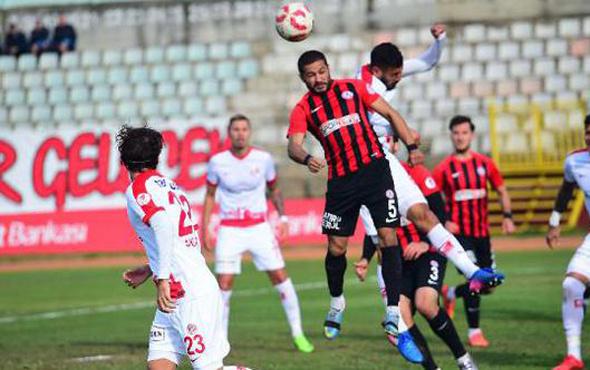 Antalyaspor kupada avantajı kaptı