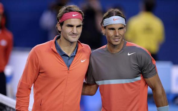 Nadal ve Federer'in grupları belli oldu