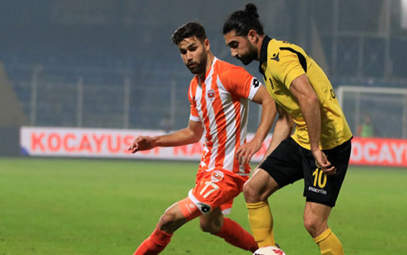 Adanaspor sahasında 1 puanla yetindi