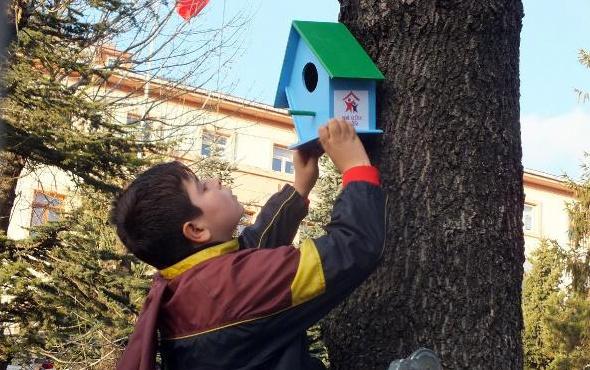Yozgat'ta çocuklar hayvanlar için harekete geçti