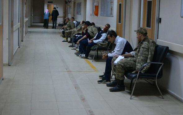 70 asker hastaneye kaldırıldı sağlık durumları nasıl?