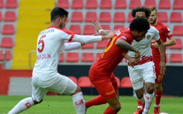 Kayserispor sahasında Antalyaspor'u devirdi