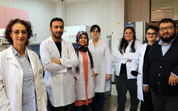 Pamukkale Üniversitesi üyeleri doğayı koruyan bakteri üretti