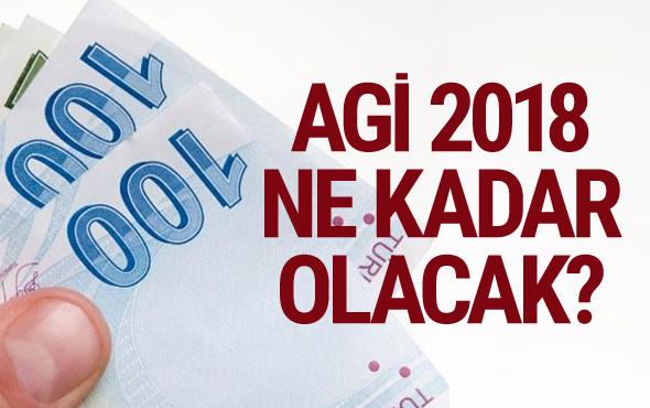 Asgari geçim indirimi-AGİ 2018 ve işsizlik maaşı zamlı tutarları