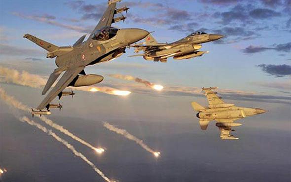 Kuzey Irak'a hava harekatı: 36 PKK hedefi imha edildi!
