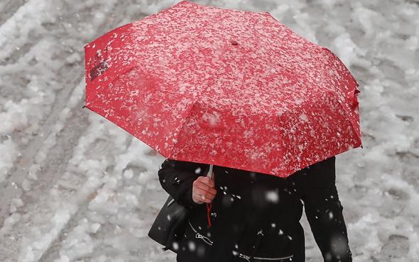 Kars'ta okullar tatil edildi! Kars hava durumu