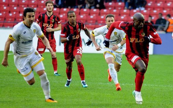 Gazişehir Gaziantep-Ankaragücü maçı golleri özeti