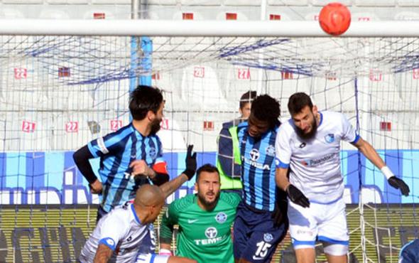 Adanaspor-Elazığspor maçı özeti