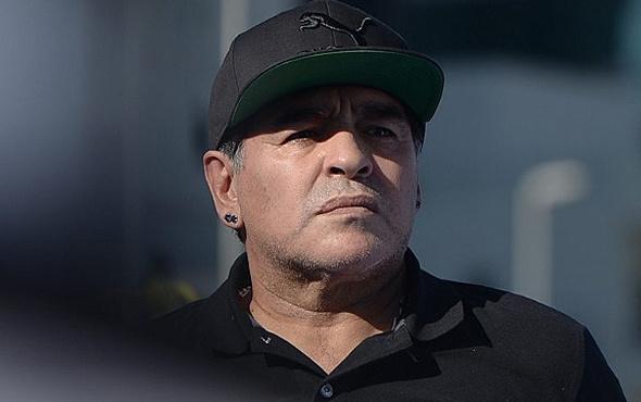 Maradona otelde bir kadına saldırdı!
