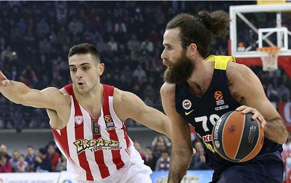 Fenerbahçe'nin konuğu Olympiakos