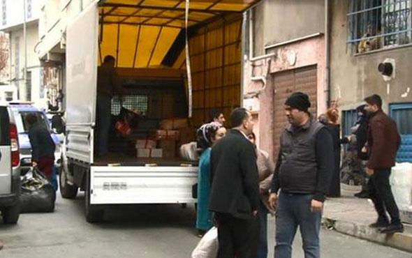 İstanbul'da büyük panik  4 bina boşaltıldı