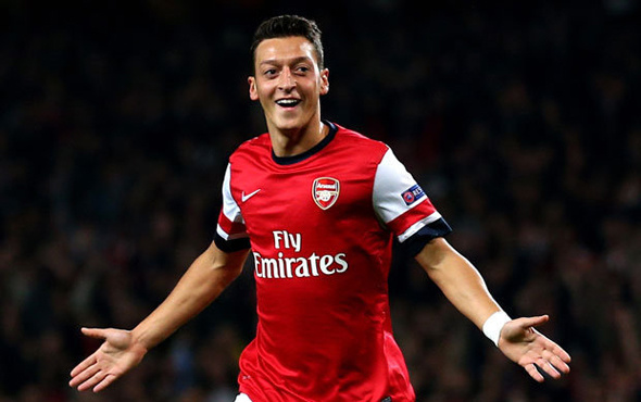 Mesut Özil Londra'da yok artık dedirtti