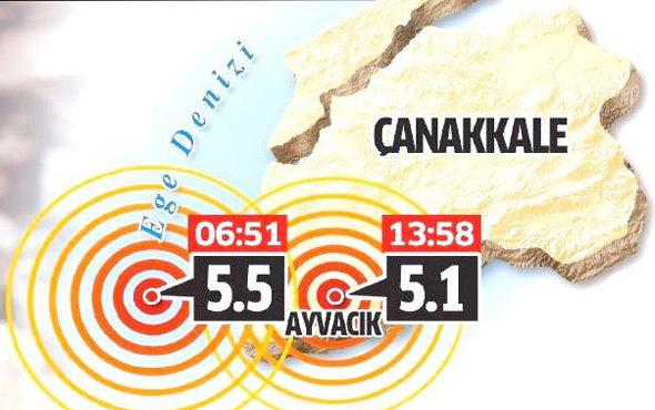 İşte Çanakkale depreminin bilançosu!