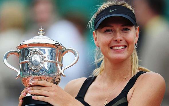 Maria Sharapova sahalara geri dönüyor