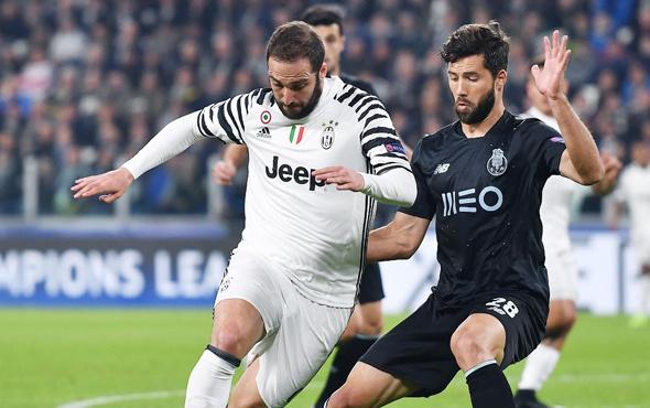 Juventus Şampiyonlar Ligi'nde çeyrek finalde