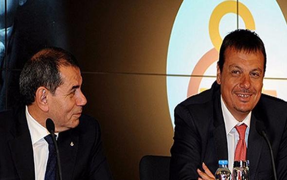 Dursun Özbek'ten flaş Ergin Ataman kararı