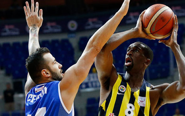 Fenerbahçe Demir İnşaat'a geçit vermedi