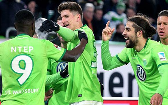 Wolfsburg Gomez ile kazandı
