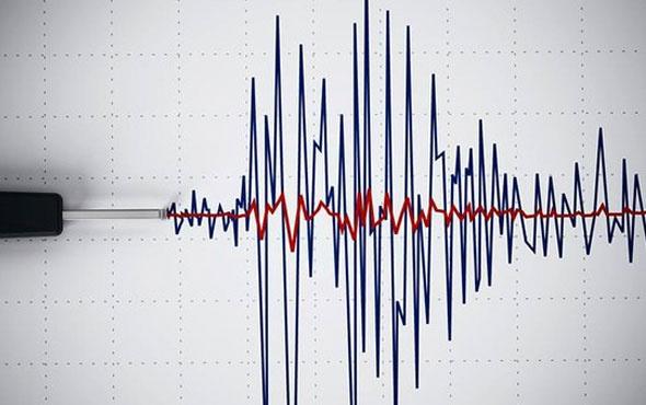 Başbakan Yıldırım'ın konuşması öncesi korkutan deprem