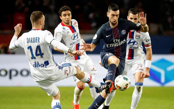 Beşiktaş'ın Avrupa'daki rakibi Lyon PSG'ye kaybetti