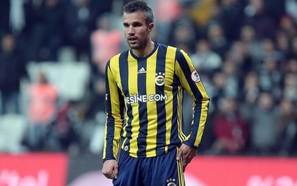 Fenerbahçe'de Van Persie ile sona gelindi