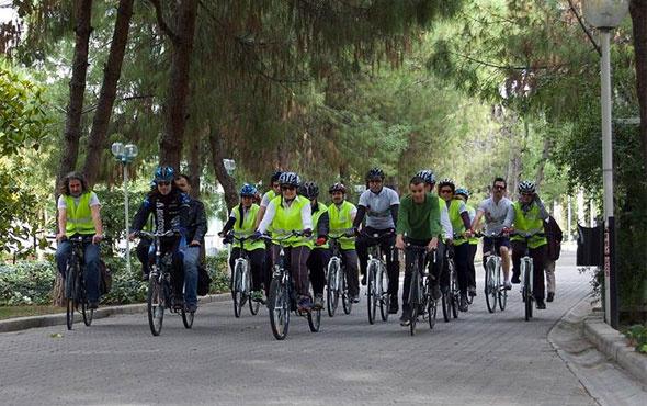 Görme engellilere özel bisiklet geliyor