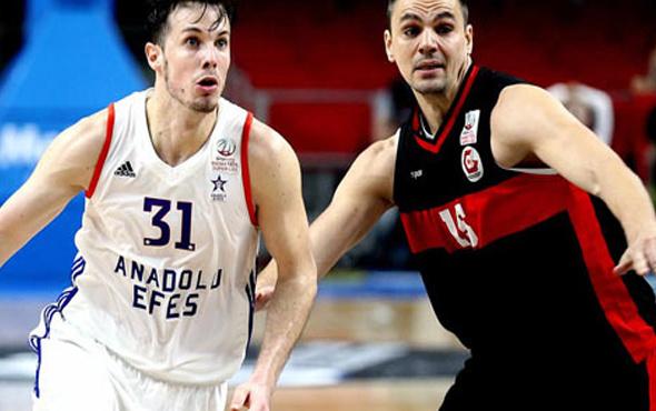 Gaziantep Basketbol Anadolu Efes'i devirdi