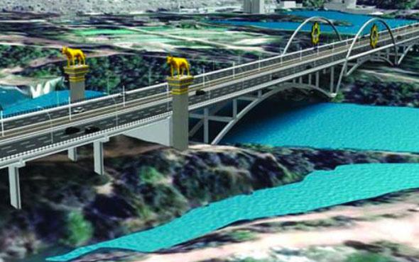 Devlet Bahçeli Köprüsü tartışma yarattı