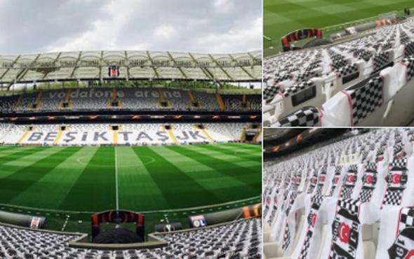 Vodafone Arena'dan UEFA'ya mesaj verilecek