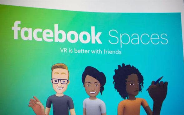 Facebook'un yeni platformu görücüye çıktı! Facebook Spaces nedir?
