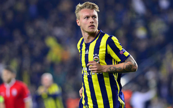 Fenerbahçe'de Simon Kjaer zirvesi