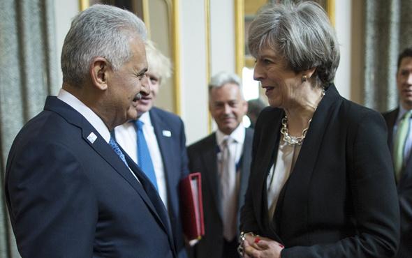 Başbakan Yıldırım Theresa May ile görüştü