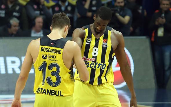 Euroleague'de Bogdanovic ve Udoh'tan büyük başarı