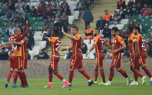 Galatasaray Gaziantep'e 5 eksikle gitti