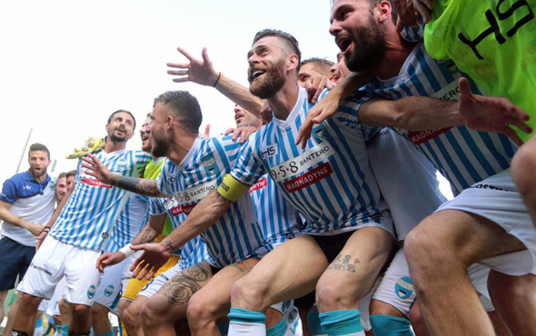 Serie A'ya yükselen takım belli oldu