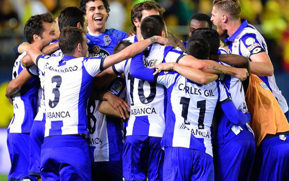 Emre Çolak'lı Deportivo son nefeste ligde kaldı