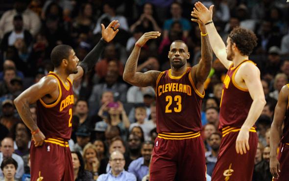 Cleveland namağlup finale yükseldi