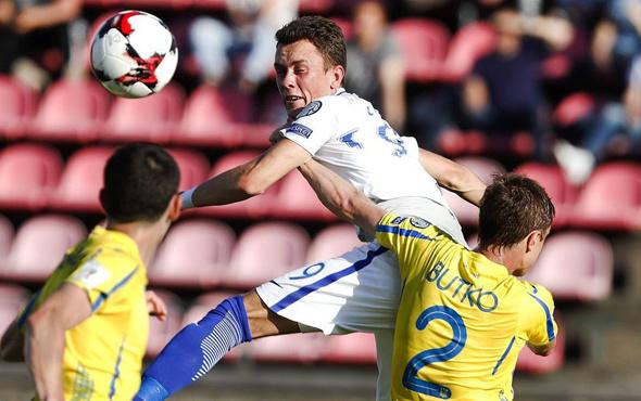 Ukrayna Finlandiya'yı 2-1 mağlup etti