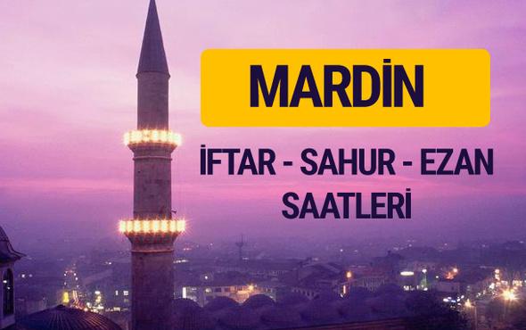 Mardin iftar saati imsak vakti ve ezan saatleri