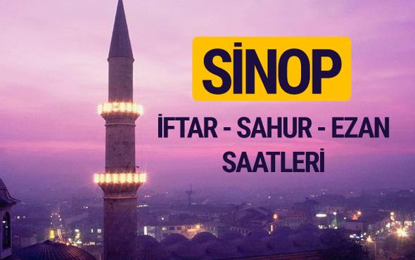 Sinop iftar saati imsak vakti ve ezan saatleri